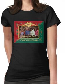 Happy Holidays From Larry and The Blacks Womens Fitted T-Shirt