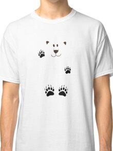 SAY HI TO THE BEAR IN THE SNOWSTORM Classic T-Shirt