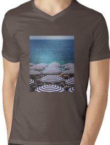 Beach brollies Mens V-Neck T-Shirt