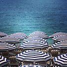Beach brollies by Jonesyinc