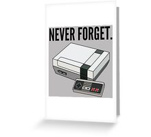 Never Forget Greeting Card