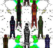 The Human Predators by Phi Nilez