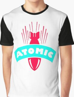 Atomic Bomb Missile Graphic T-Shirt