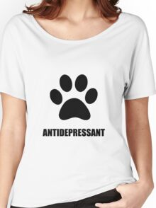 Antidepressant Pet Women's Relaxed Fit T-Shirt