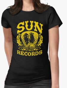 SUN RECORDS MEMPHIS TENNESSEE  Womens Fitted T-Shirt