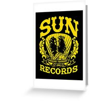 SUN RECORDS MEMPHIS TENNESSEE  Greeting Card