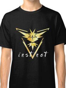 Pokemon Go - Instinct Watercolor Classic T-Shirt