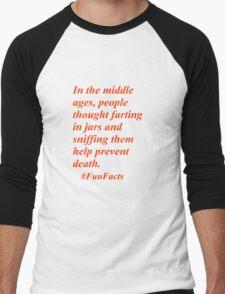 Fun Facts #3 Men's Baseball ¾ T-Shirt
