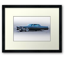 1967 Cadillac Custom Coupe DeVille Framed Print