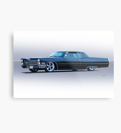 1967 Cadillac Custom Coupe DeVille Metal Print