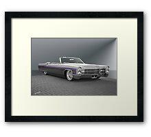 1966 Cadillac Custom Eldorado Convertible Framed Print