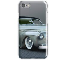 1941 Buick Custom Roadmaster Convertible iPhone Case/Skin