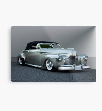 1941 Buick Custom Roadmaster Convertible Metal Print