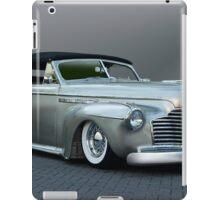 1941 Buick Custom Roadmaster Convertible iPad Case/Skin