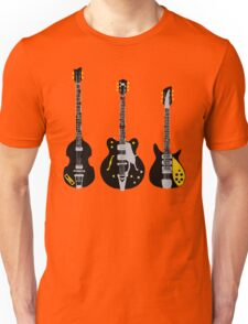 Beatles Guitars Unisex T-Shirt