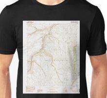 USGS TOPO Map Arizona AZ Bitter Springs 310484 1985 24000 Unisex T-Shirt