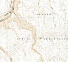USGS TOPO Map Arizona AZ Bitter Springs 310484 1985 24000 Sticker