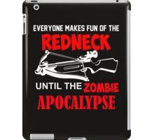 Redneck Zombie  iPad Case/Skin