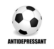 Antidepressant Soccer Photographic Print