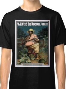 Performing Arts Posters Wm H Wests Big Minstrel Jubilee 1790 Classic T-Shirt