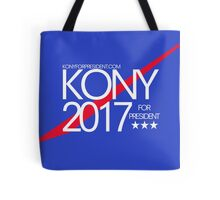 Kony 2017 For President Tote Bag