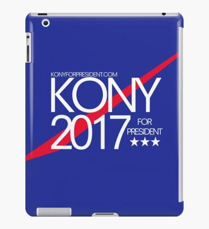 Kony 2017 For President iPad Case/Skin