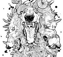 Cerberus Dog Monster by Sphynx