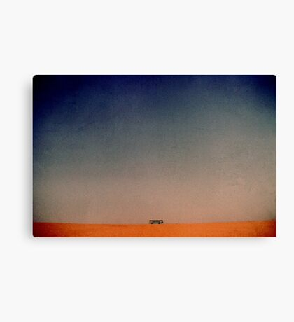 bus to nowhere Canvas Print