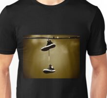 Shoes on a Wire 5 Unisex T-Shirt