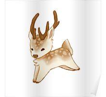 Small Cute Deer Poster