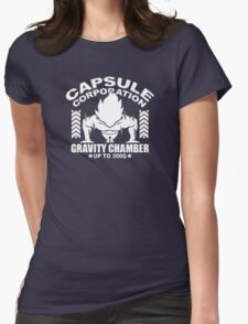 Gravity Chamber Womens Fitted T-Shirt