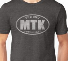 Montauk - The End (white) Unisex T-Shirt