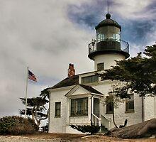 Los Pinos Lighthouse by Barbara  Brown