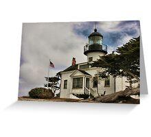 Los Pinos Lighthouse Greeting Card