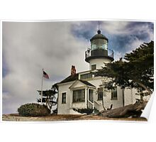 Los Pinos Lighthouse Poster