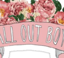 FALL OUT BOY TUMBLR Sticker