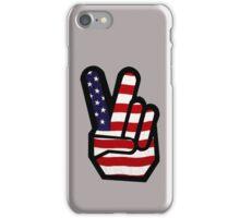 Peace Stars n Stripes iPhone Case/Skin