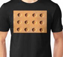 Yellow dots Metal Unisex T-Shirt