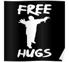 FREE HUGS ZOMBIE Poster