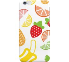 Fruits pattern iPhone Case/Skin