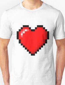 PIXEL HEART TUMBLR Unisex T-Shirt