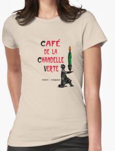 Broken Sword Café! Womens Fitted T-Shirt