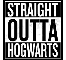 Straight Outta Hogwarts Photographic Print