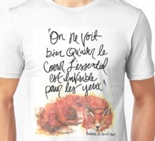 The Little Prince Quote 002 Unisex T-Shirt