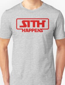 Star Wars Sith Happens Darth Vader Unisex T-Shirt