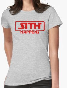 Star Wars Sith Happens Darth Vader Womens Fitted T-Shirt