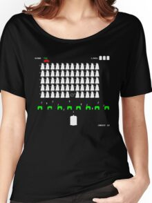 Dr Who Space Invaders Women's Relaxed Fit T-Shirt