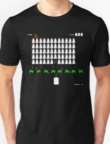 Dr Who Space Invaders T-Shirt