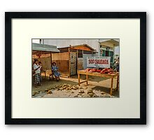"The Only ""Restaurant"" Framed Print"