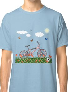 Pink bicycle Classic T-Shirt